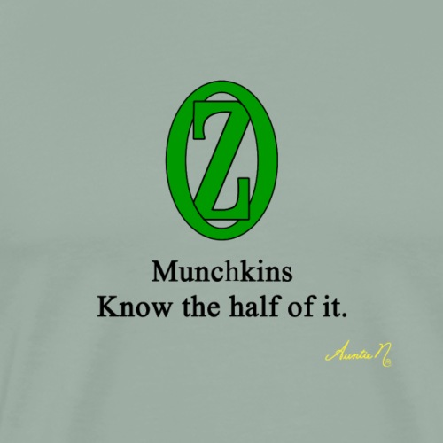 0135 Munchkins - Men's Premium T-Shirt