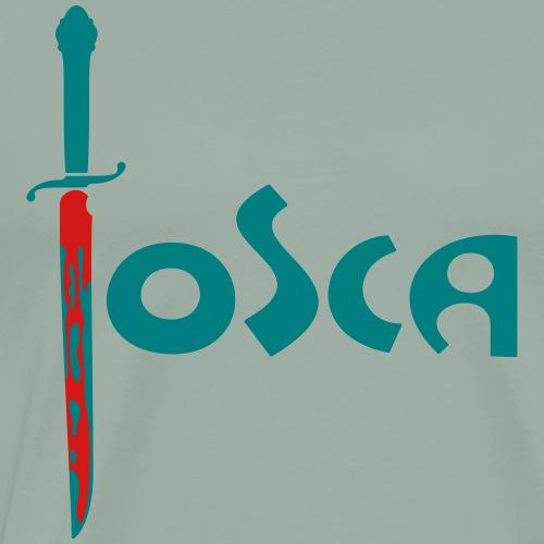 Tosca: «Questo è il bacio di Tosca!» (condensed) - Men's Premium T-Shirt