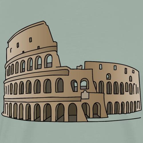 Colosseum Rome, Italy, gladiator - Men's Premium T-Shirt