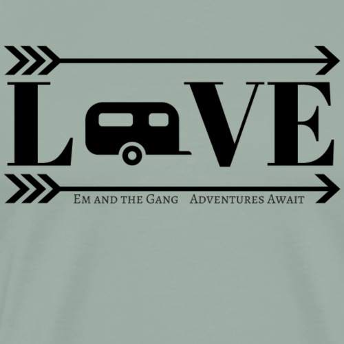 Love Camper Logo - Men's Premium T-Shirt