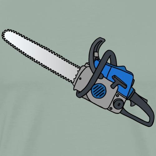 Lumberjack´s chainsaw - Men's Premium T-Shirt