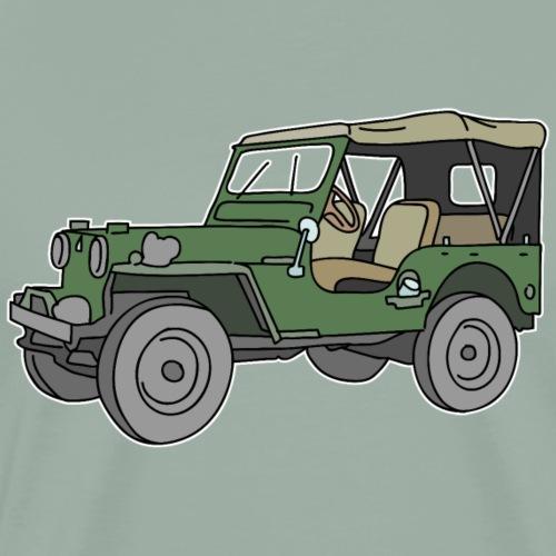 SUV, all-terrain vehicle - Men's Premium T-Shirt