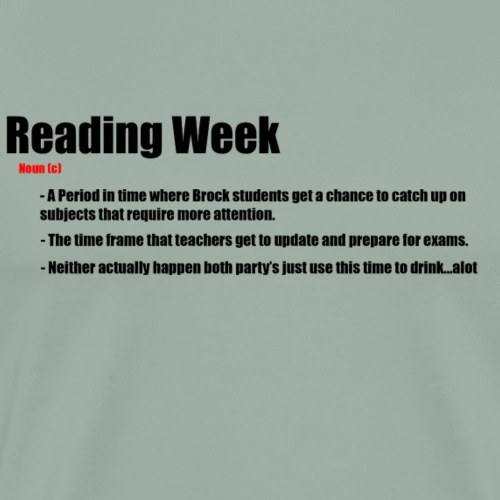 Reading week - Men's Premium T-Shirt
