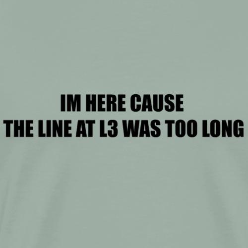 L3 - Men's Premium T-Shirt