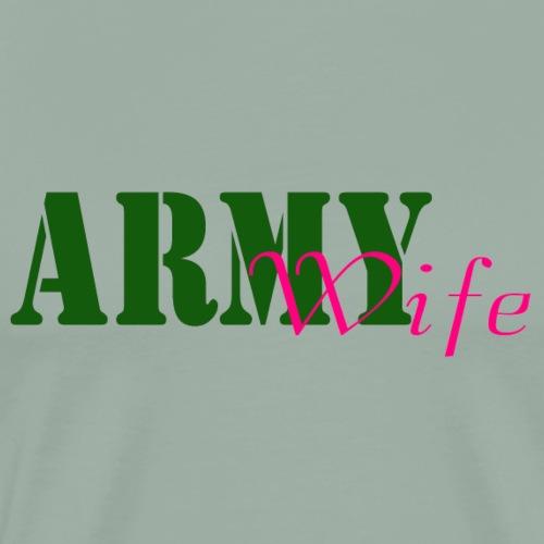 Army Wife - Men's Premium T-Shirt