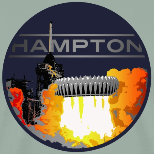 Hampton Blastoff - Men's Premium T-Shirt