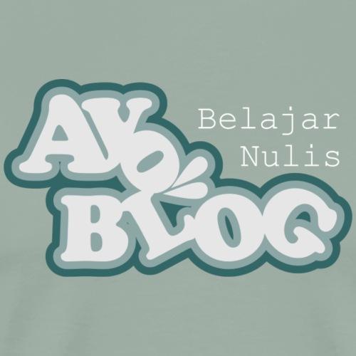 Ayo Belajar Nulis Blog - Men's Premium T-Shirt