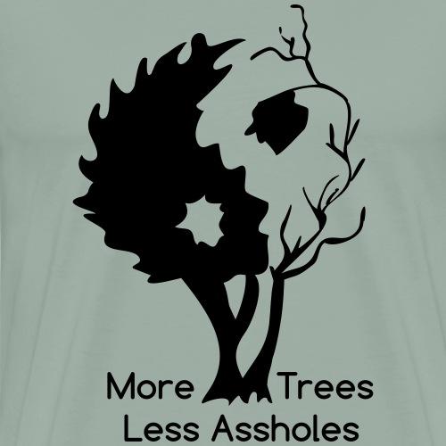 Yin Yang tree MTLA - Men's Premium T-Shirt