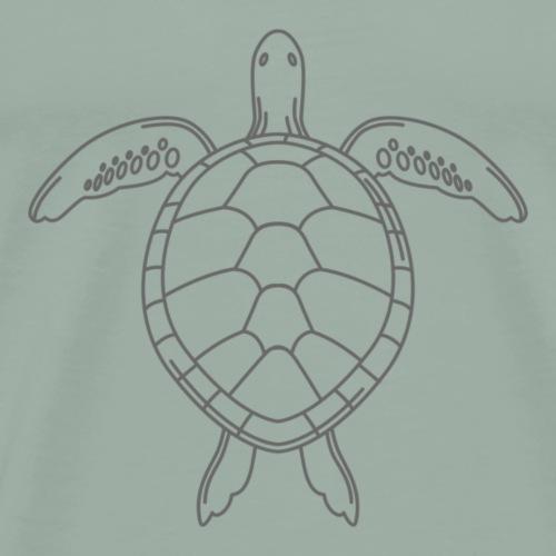 sea turtle - Men's Premium T-Shirt