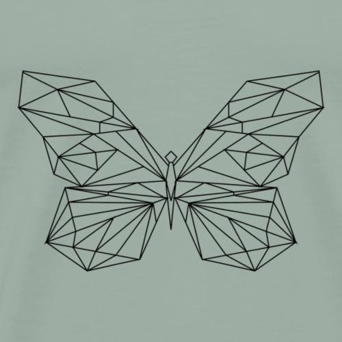 geometric butterfly - Men's Premium T-Shirt