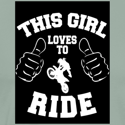 This Girl Loves To Ride Motorcycles