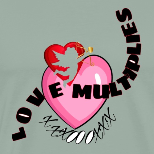 Love multiplies - Men's Premium T-Shirt