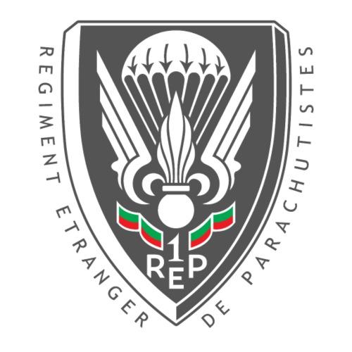 1er REP - Regiment - Badge - Dark - Men's Premium T-Shirt