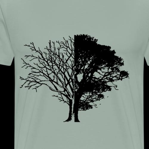 Tree of Life & Death - Men's Premium T-Shirt