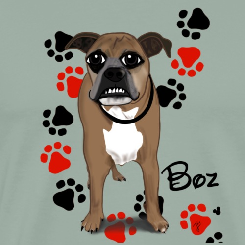 Boz - Men's Premium T-Shirt