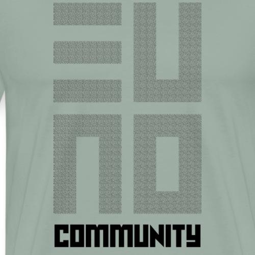 EUNO BLOCK TSHIRT - Men's Premium T-Shirt