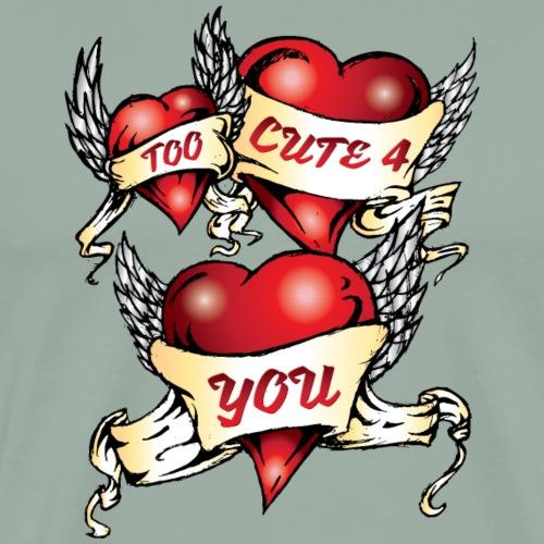 Too Cute 4 You - Men's Premium T-Shirt