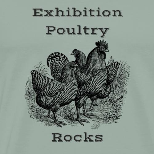 Exhibition Poultry Rocks - Men's Premium T-Shirt
