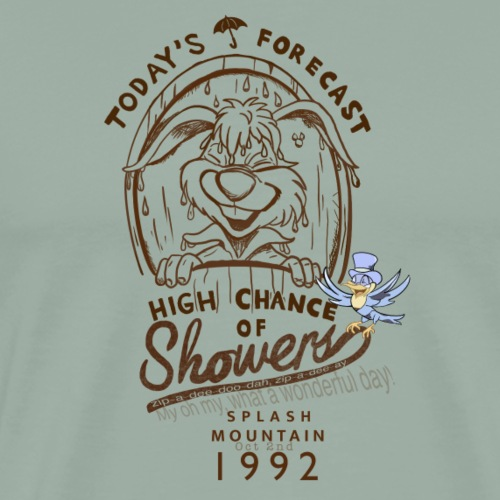 High Chance of Showers - Men's Premium T-Shirt