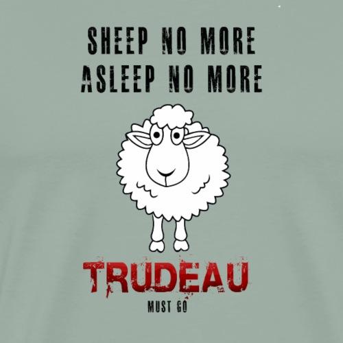 sheep no more - Men's Premium T-Shirt
