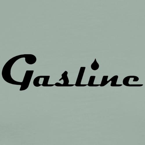 Gasline Simple Black - Men's Premium T-Shirt