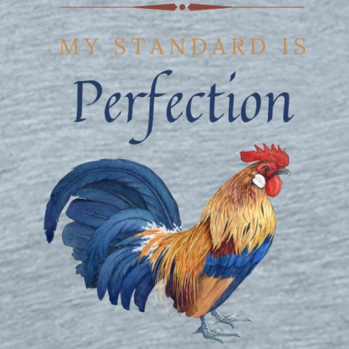 My Standard Is Perfection - Men's Premium T-Shirt
