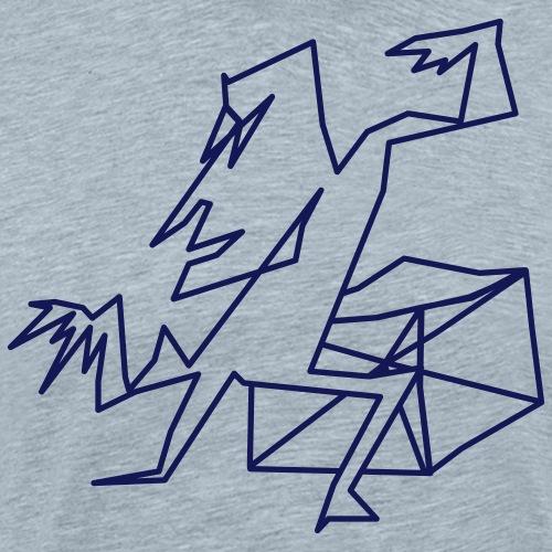 Angularman - Men's Premium T-Shirt