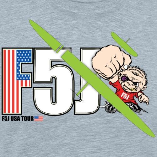 F5J Mascot Flag - Men's Premium T-Shirt