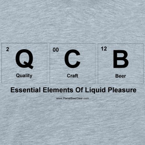 Essential Elements Of Liquid Pleasure (QCB) - Men's Premium T-Shirt