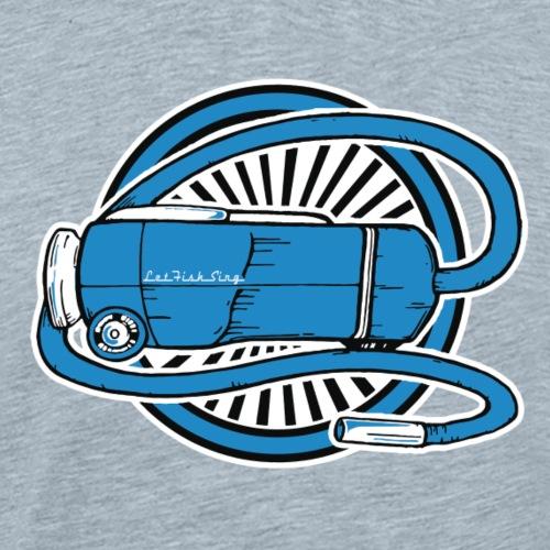 Let Fish Sing - Men's Premium T-Shirt