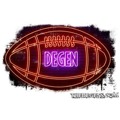Football Degeneracy - Men's Premium T-Shirt