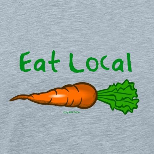 Eat Local - Men's Premium T-Shirt