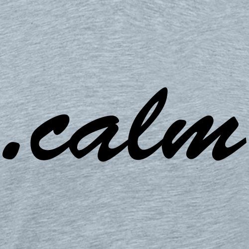 .Calm - Men's Premium T-Shirt