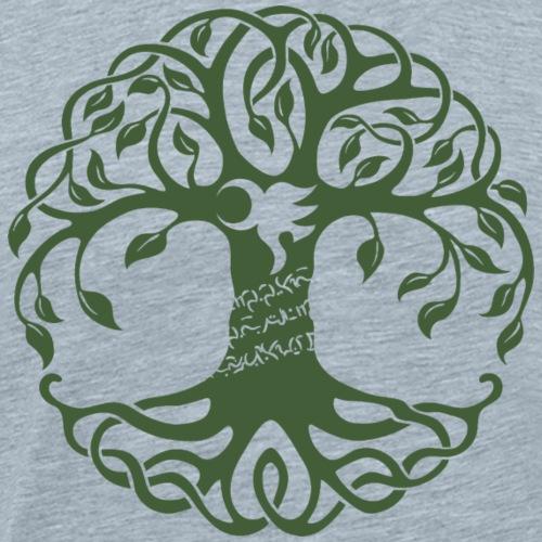 yawe-tree-notext - Men's Premium T-Shirt