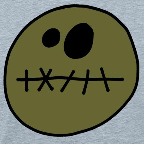 zombie smiley - Men's Premium T-Shirt