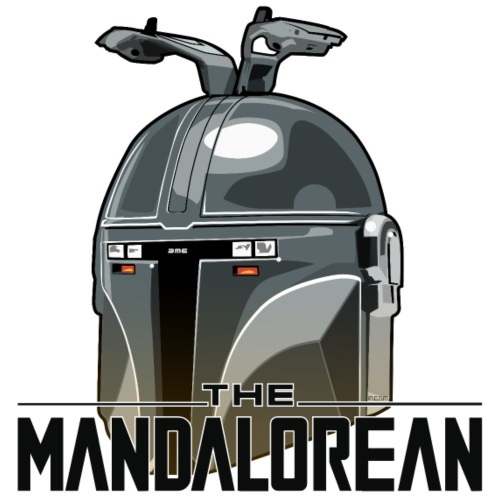 The M4ndalorean - Men's Premium T-Shirt