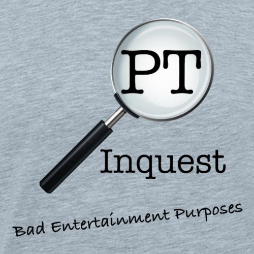 InquestLogoBadEntertainment - Men's Premium T-Shirt