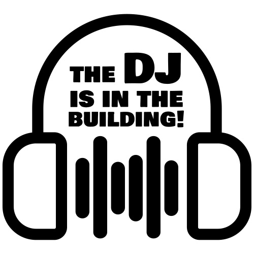 The DJ is in the Building - Men's Premium T-Shirt