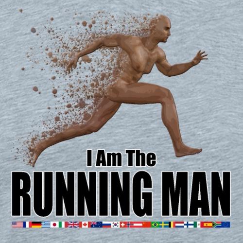 I am the Running Man - Cool Sportswear - Men's Premium T-Shirt