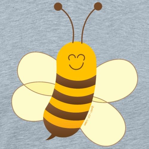 Smiling Little Bee - Men's Premium T-Shirt