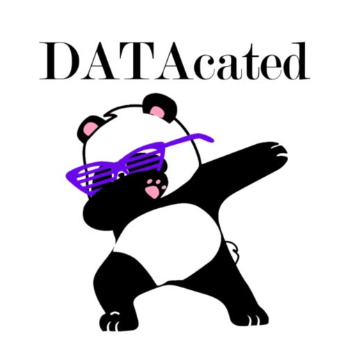 DATAcated Panda - Men's Premium T-Shirt