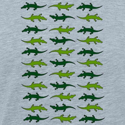 Crocs and gators - Men's Premium T-Shirt