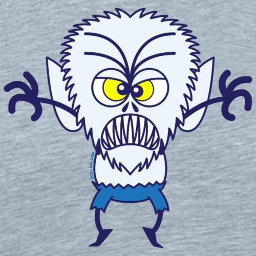 Scary Halloween Werewolf - Men's Premium T-Shirt