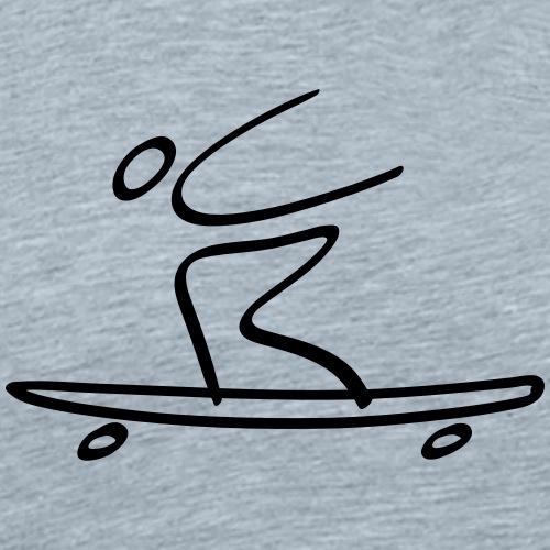 Extreme Longboarding - Men's Premium T-Shirt