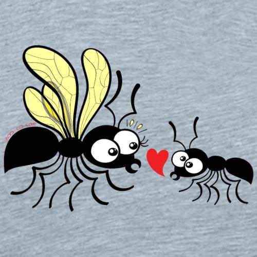 Declaration of love for a queen ant - Men's Premium T-Shirt
