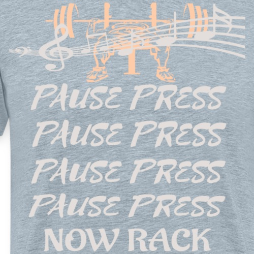 Pause Press - Men's Premium T-Shirt