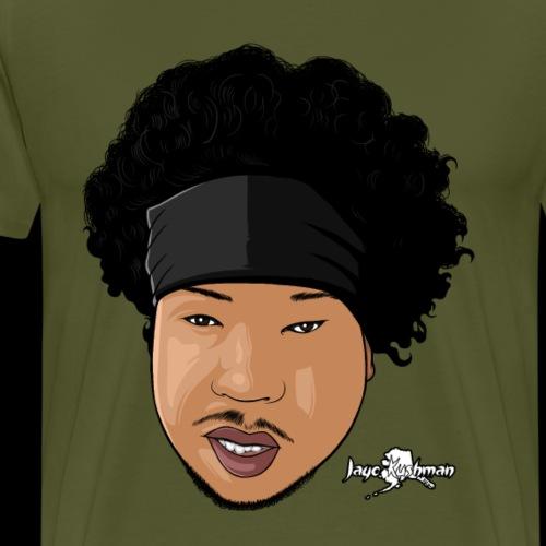 Jayo Kushman Cartoon Head - Men's Premium T-Shirt