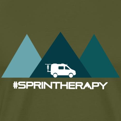 Three Blue Mountains - Men's Premium T-Shirt
