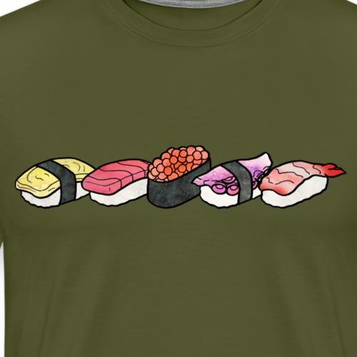 Nigiri & Gunkan Line - Men's Premium T-Shirt