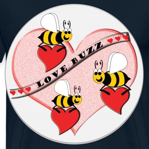 Love Buzz - Men's Premium T-Shirt